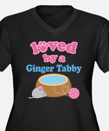 Loved By A Ginger Tabby Women's Plus Size V-Neck D