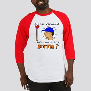 Humorous Global Warming Baseball Jersey