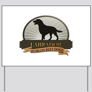Labrador Yard Sign