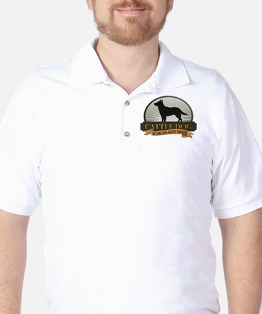 Cattle Dog Golf Shirt