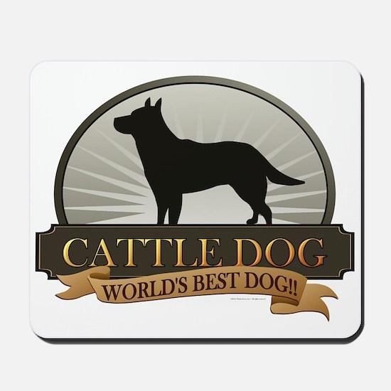 Cattle Dog Mousepad