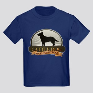 Cattle Dog Kids Dark T-Shirt