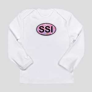 St. Simons Island - Oval Design. Long Sleeve Infan