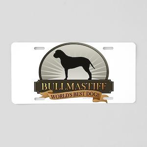 Bullmastiff Aluminum License Plate