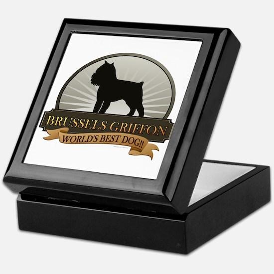 Brussels Griffon Keepsake Box