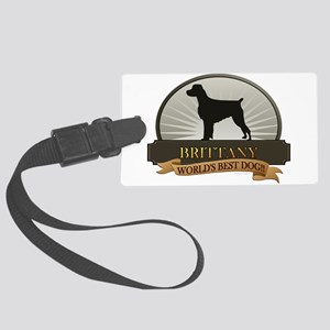 Brittany Large Luggage Tag