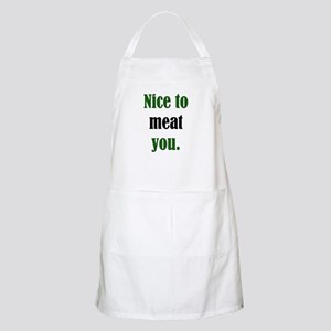 Meat You BBQ Apron