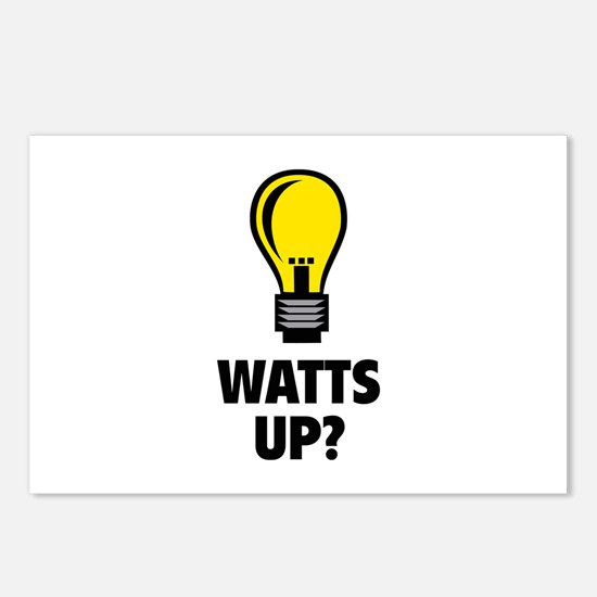 Watts Up ? Postcards (Package of 8)