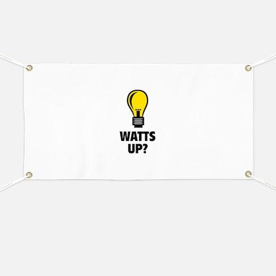 Watts Up ? Banner