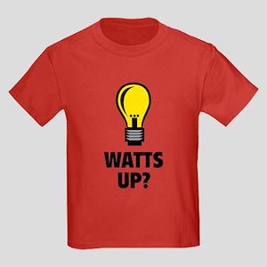 Watts Up ? Kids Dark T-Shirt