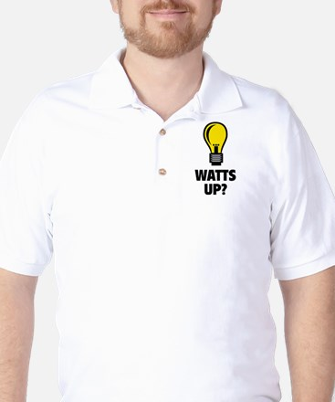 Watts Up ? Golf Shirt