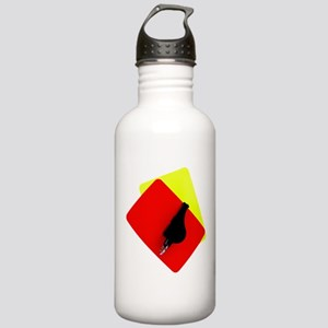 red and yellow card Stainless Water Bottle 1.0L