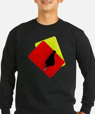 red and yellow card T