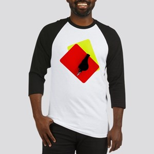 red and yellow card Baseball Jersey