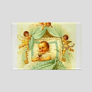 Vintage Victorian New Baby Shower Gift Cherubs Rec
