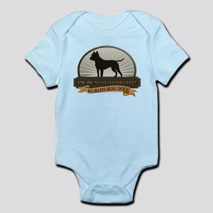 American Staffordshire Infant Bodysuit
