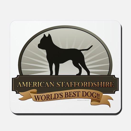 American Staffordshire Mousepad