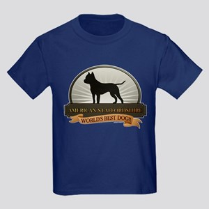 American Staffordshire Kids Dark T-Shirt