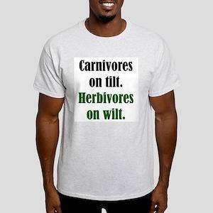 Tilt / Wilt Ash Grey T-Shirt