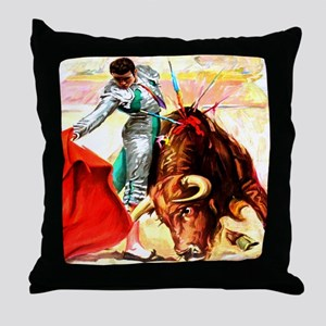 Vintage Mexico Bull Fighter Bullfight Poster Art T