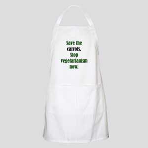 Save the Carrots BBQ Apron