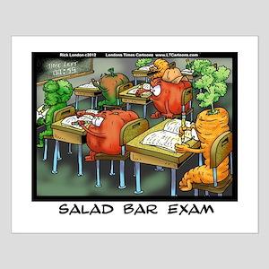 Salad Bar Exam Small Poster
