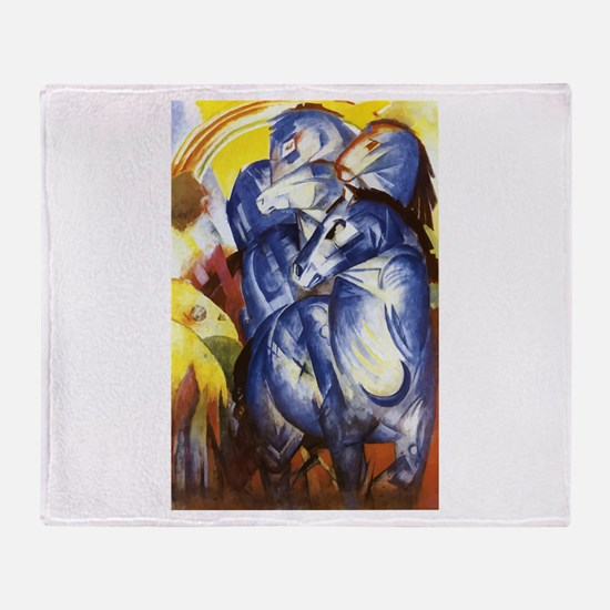 Franz Marc The Tower of Blue Horses Stadium Blank