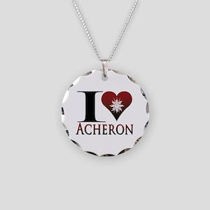 Acheron Necklace Circle Charm