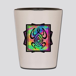 Tiedye Turtle Shot Glass