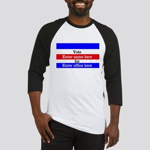 Striped Campaign Baseball Jersey