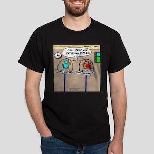 Parrot Bathroom Fixtures Dark T-Shirt