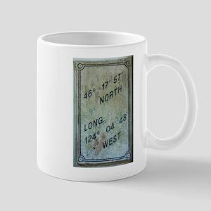 Latitude & Longitude Attitude Mug