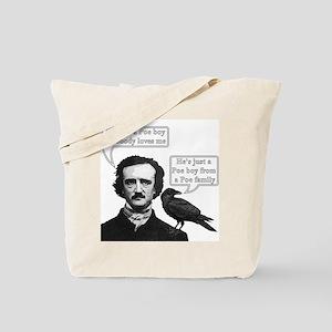 I'm Just A Poe Boy - Bohemian Rhapsody Tote Bag
