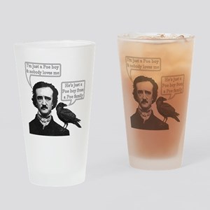 I'm Just A Poe Boy - Bohemian Rhapsody Drinking Gl