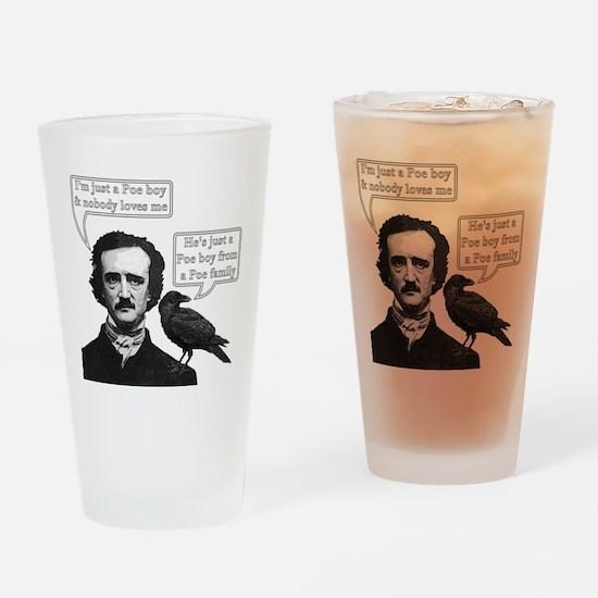 I'm Just A Poe Boy - Bohemian Rhapsody Drinking Gl