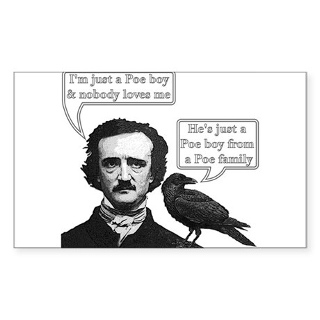 I'm Just A Poe Boy - Bohemian Rhapsody Sticker (Re