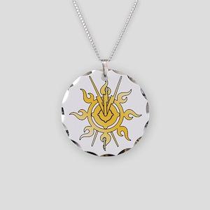 Acheron Symbol (TM) Necklace Circle Charm