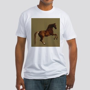 George Stubbs Whistlejacket Fitted T-Shirt