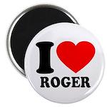 I (Heart) Roger Magnet