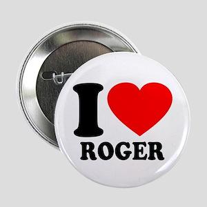 "I (Heart) Roger 2.25"" Button"