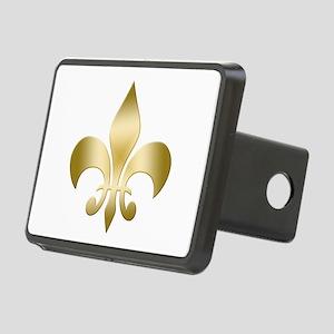 New Orleans Fleur Rectangular Hitch Cover