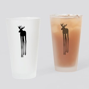 Moose Drippings Drinking Glass