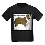 Australian Shepherd Kids Dark T-Shirt
