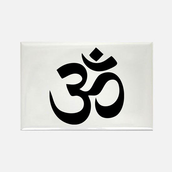 Om Aum Rectangle Magnet (100 pack)
