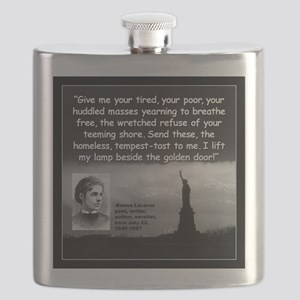 Lazarus Liberty Quote 2 Flask
