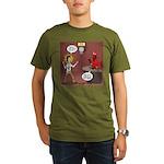 Hell Fire 2 Organic Men's T-Shirt (dark)