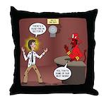 Hell Fire 2 Throw Pillow