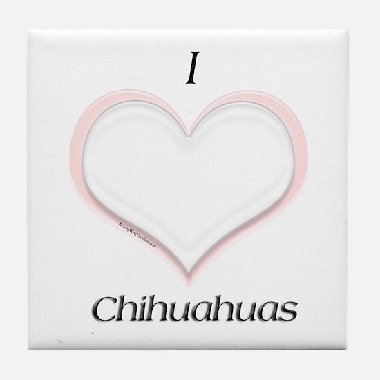 Chi Heart Tile Coaster