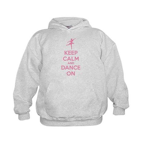 Keep calm and dance on Kids Hoodie