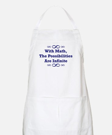 With Math, The Possibilities  BBQ Apron